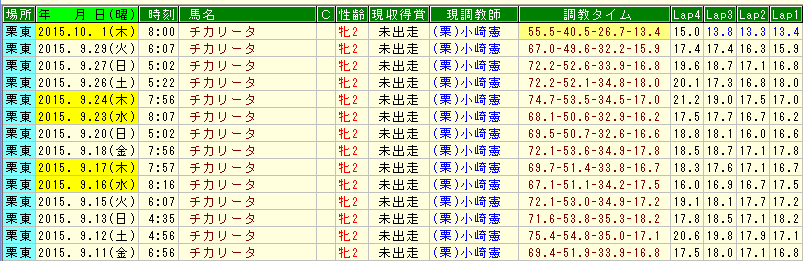 チカリータ調教 (1)
